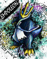 Empoleon by sudro