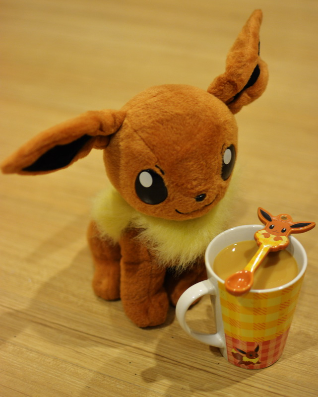Irish coffee and Eevee by sudro