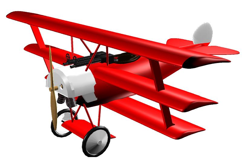 Fokker Dr.I - 3D by sudro