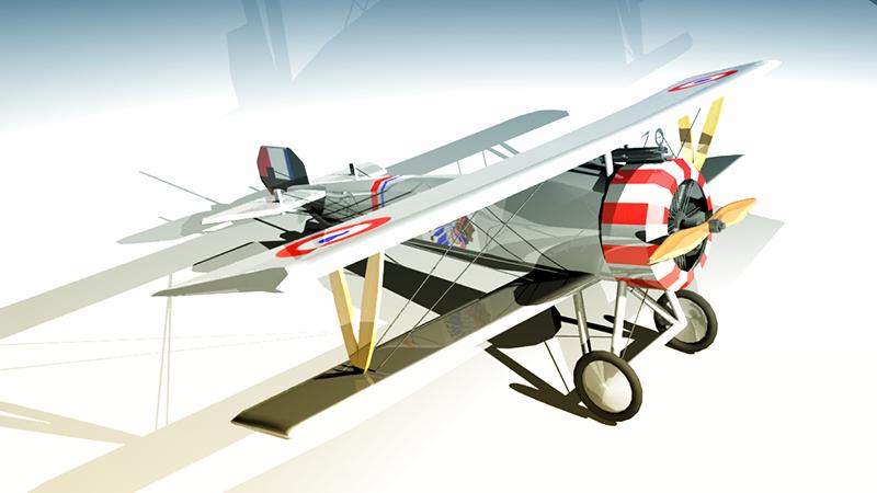 Nieuport 17 by sudro