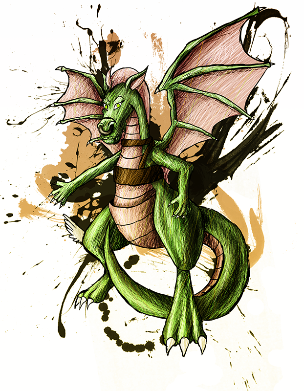 Dulcy the Dragon by sudro