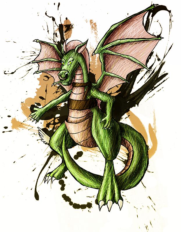 Dulcy the Dragon by sudro