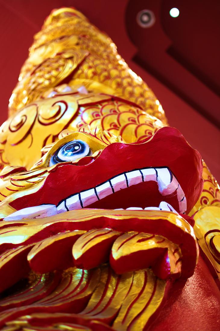 Dragon pillar by sudro