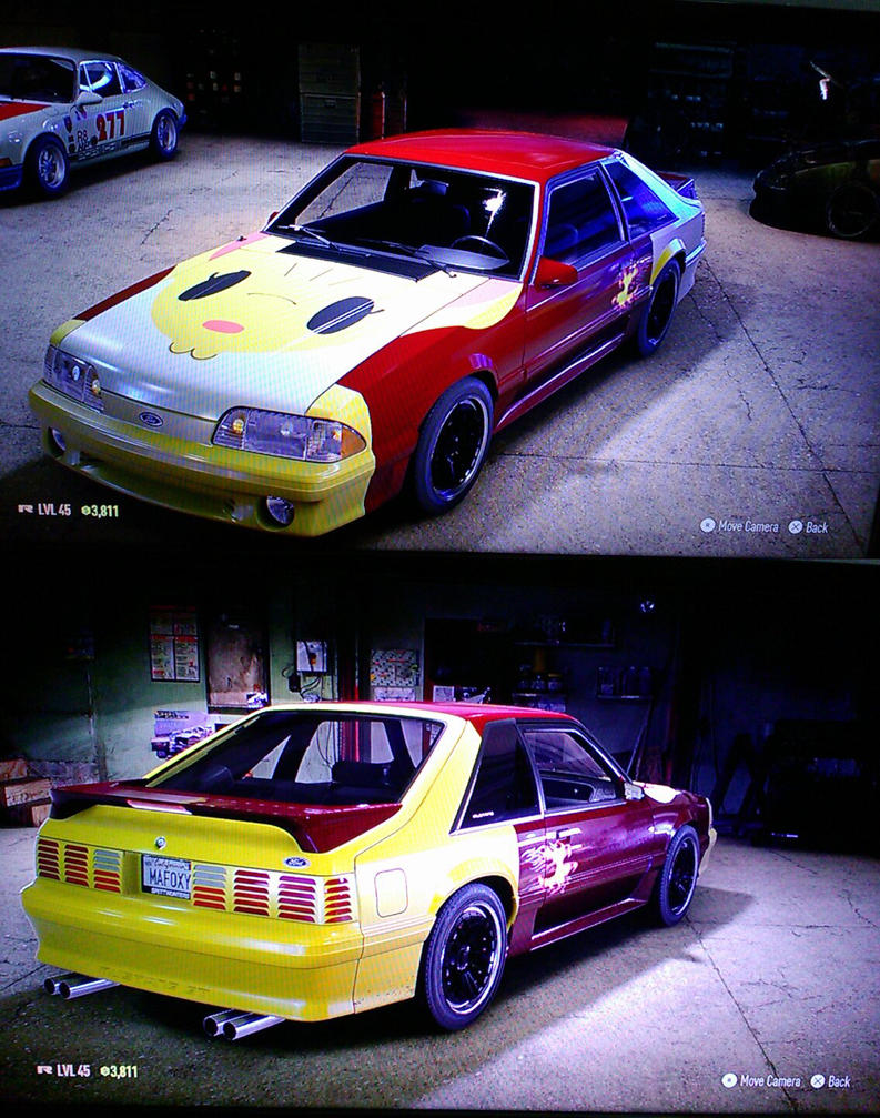 Mafoxy Ford Mustang Fox Body - gift by pete7868 by sudro