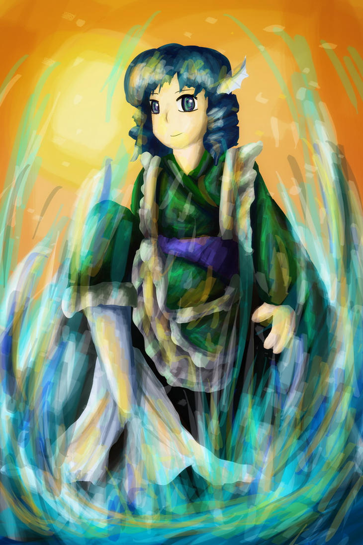 Wakasagihime - Speed draw by sudro
