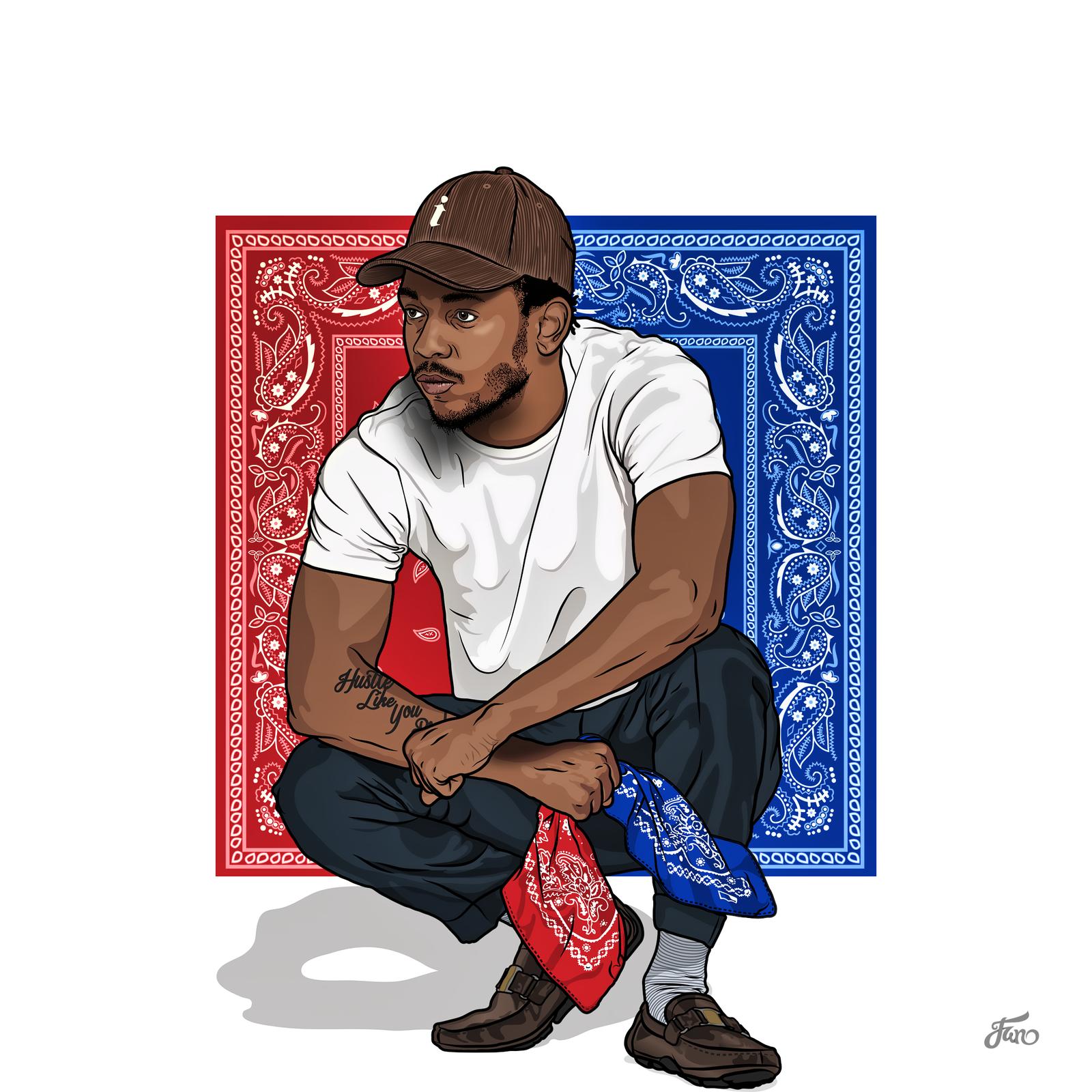 J Cole Tumblr 2017 Kendrick Lamar - Red v...