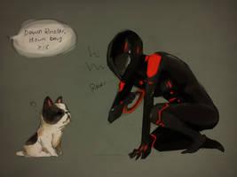 Tron: Kitty Rinzler 2 by muraito
