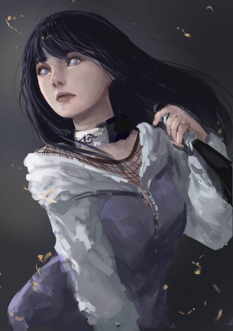 Hinata Hyuuga by MilanaMill