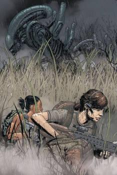 Aliens: Resistance #3 Cover