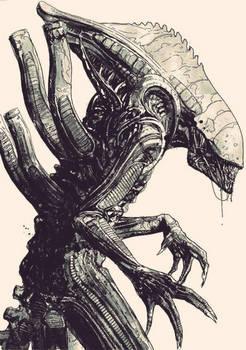 Alien 'Big Ugly' Commission