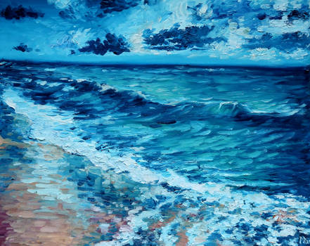 The sea in impressionism