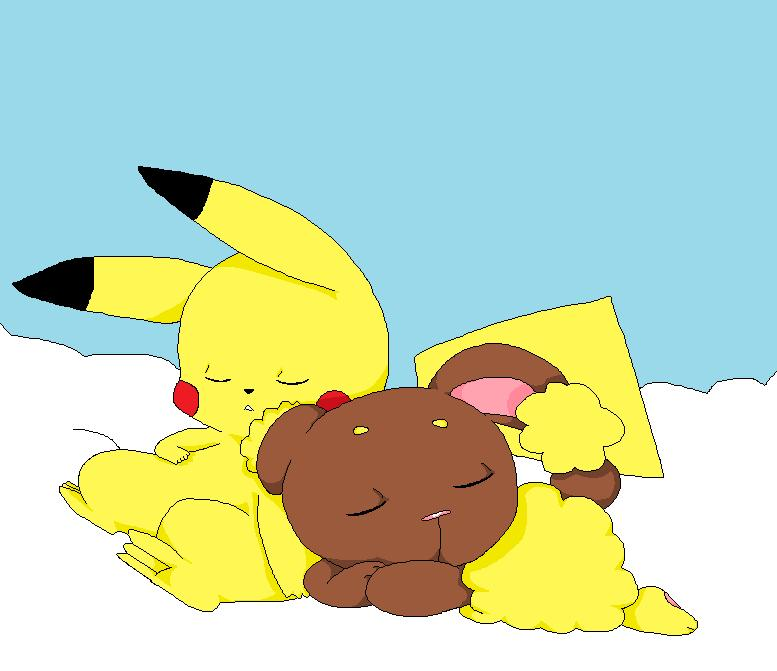 Pikachu And Buneary Kissing | www.imgkid.com - The Image ...
