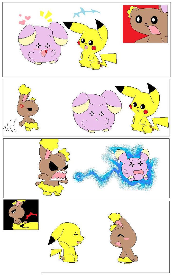Pokemon Pikachu X Buneary Images | Pokemon Images
