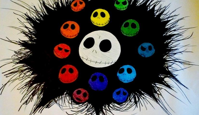 Jack Skellington Color Wheel By Monstrositynumba8