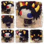 Chibi Sollux Plushie from Homestuck