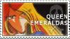 Queen Emeraldas stamp by winterqueen