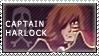 Captain Harlock stamp by winterqueen
