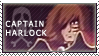 Captain Harlock stamp by winterqueen