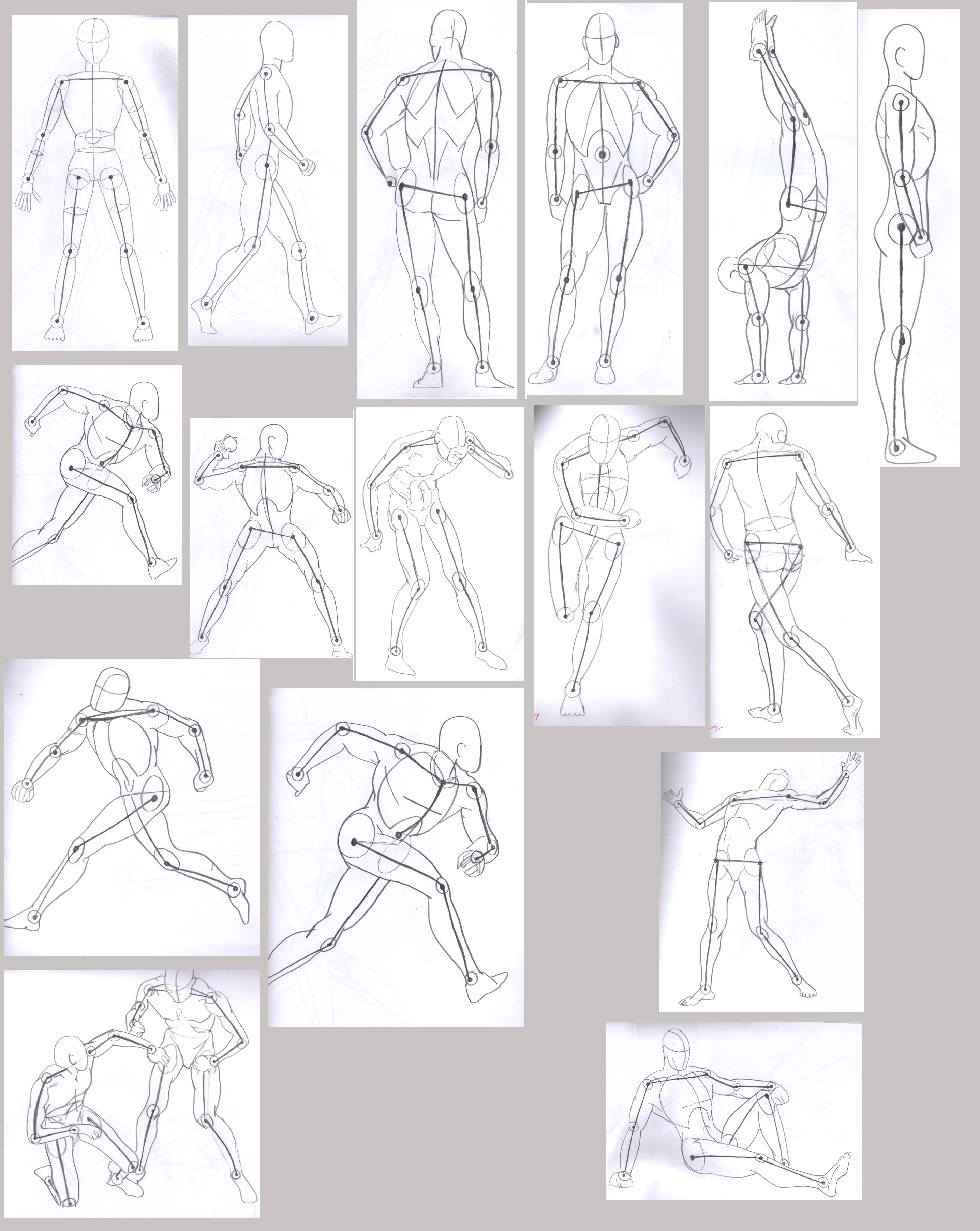 17 Body Positions By Ciry15 On Deviantart
