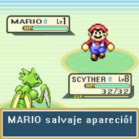 Scyther vs Mario by Ludkubo