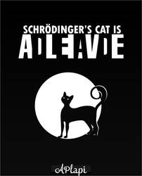 Schrodinger's cat by APlaPi