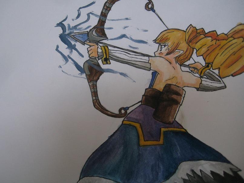 Archer - Disgaea by TheStarkster