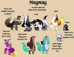 Maymay species sheet (semi-open)