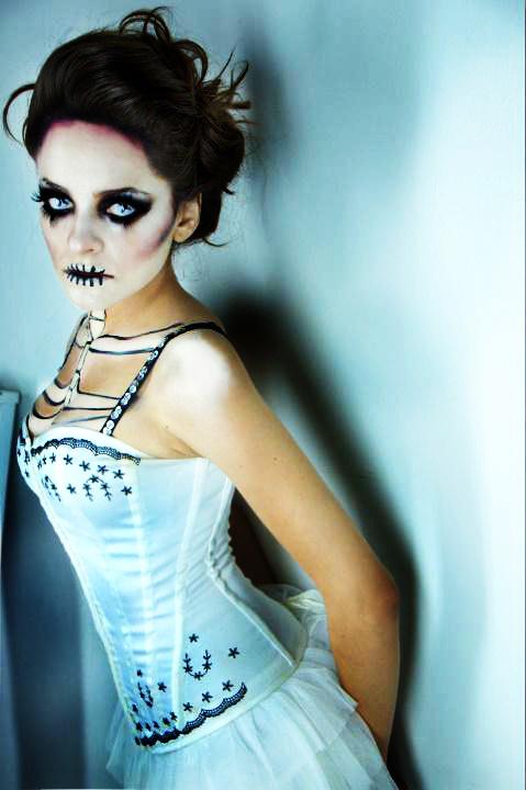 Dead Bride Makeup Pictures : Dead Bride by Cazzimoon on DeviantArt