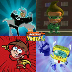 Nicktoons superheroes