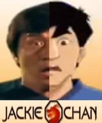 Jackie chan share face by NickNinja02