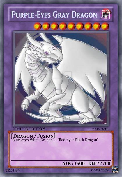 Purple Eyes Gray Dragon By Nickninja02 On Deviantart