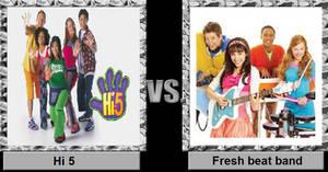 Hi 5 vs fresh beatband