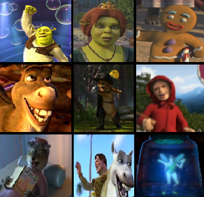 Shrek 2 Movie Characters By Nickninja02 On Deviantart