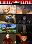 Team Avatar Vs Red Lotus One On One