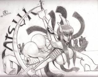 SatsukiLL LA KILL by AJCancer
