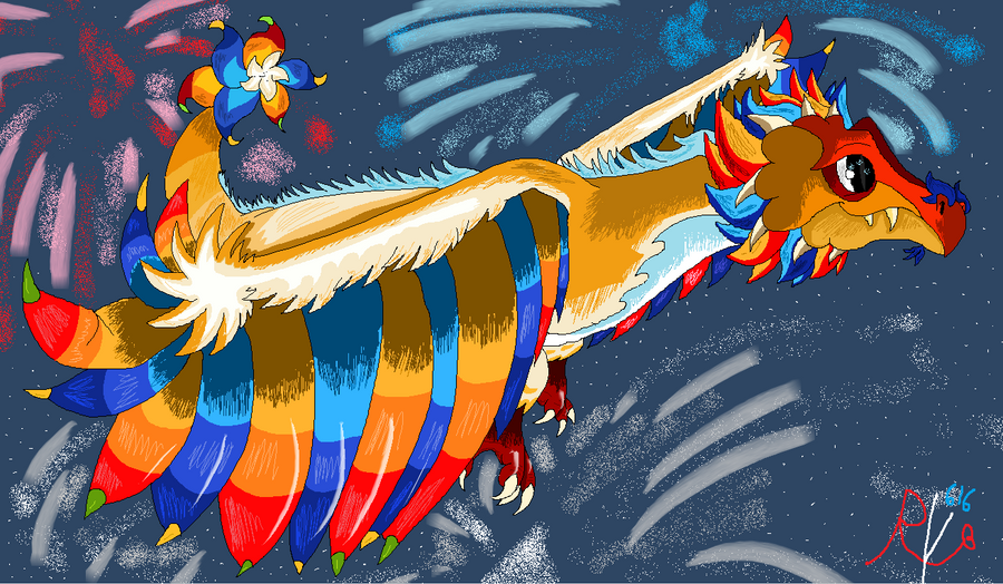 firework dragon