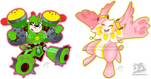 Bunny Bros Digimon