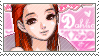Dahlia stamp by Black-Harmonia