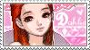 Dahlia stamp by Black-Harmonia