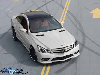 Mercedes E-Class Coupe by Taglane