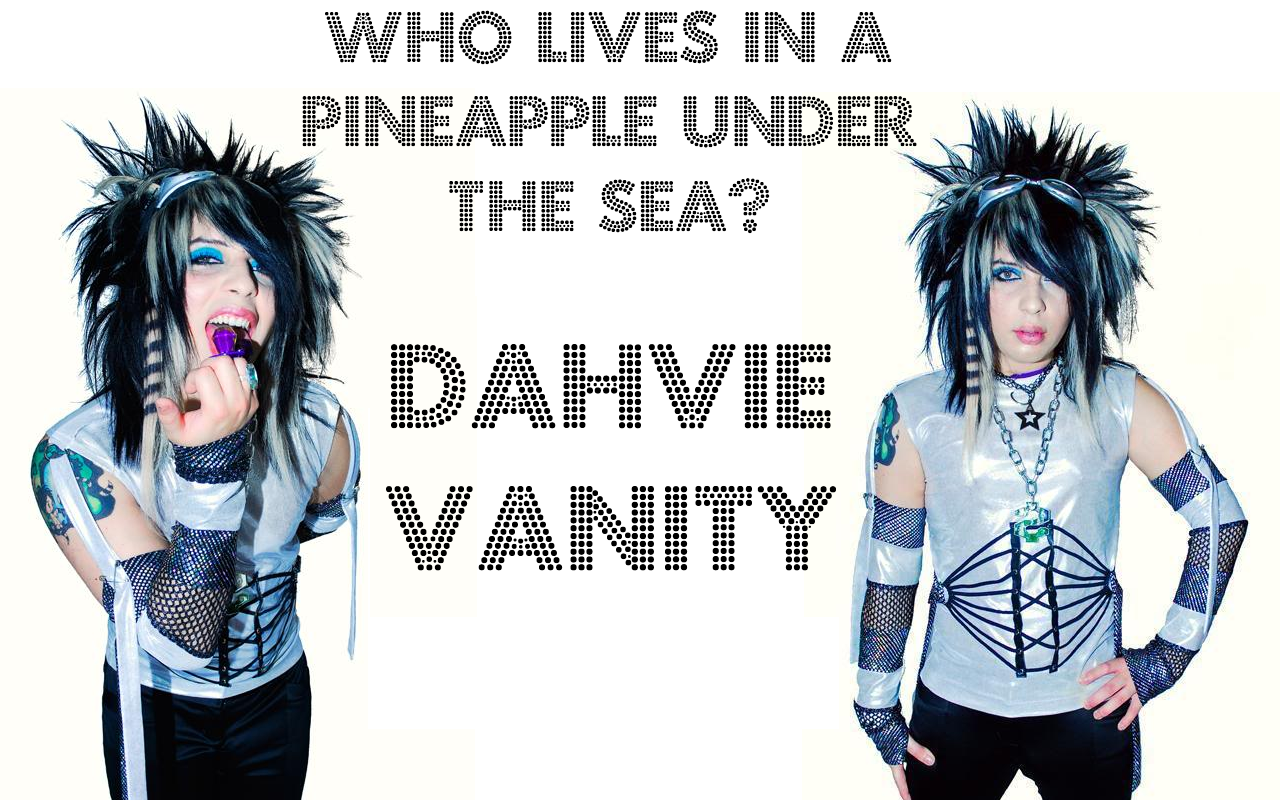 who lives in a pineapple under the sea dahvie vanity biography