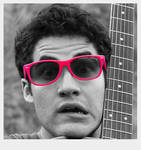Darren Criss Color Splash
