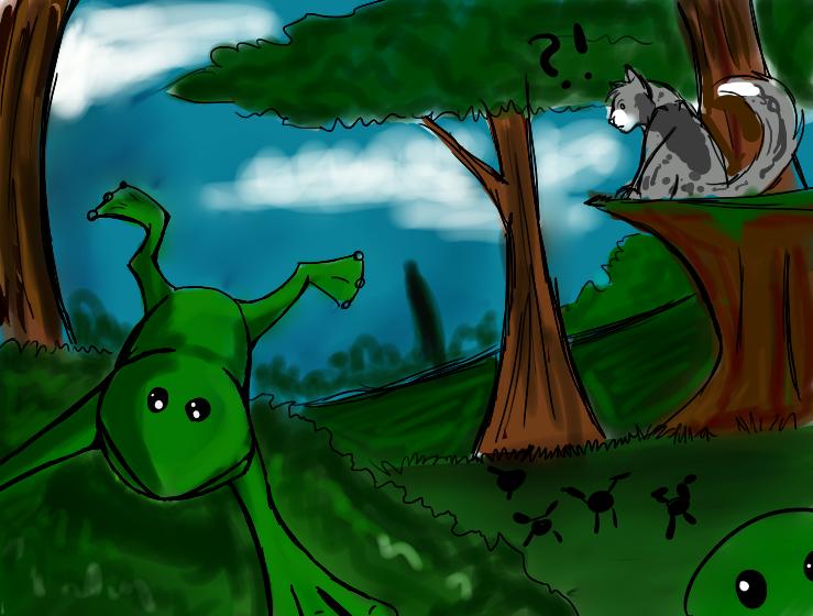 TBT: ... Frogs? by DappledSun