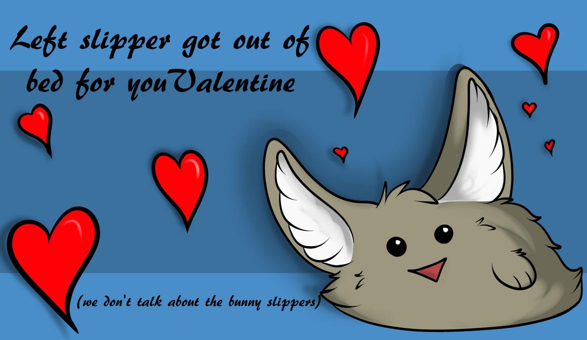Left Slipper Valentine by DappledSun