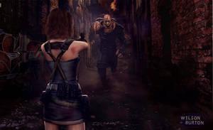 Resident Evil 3 Remake ART by:Wilson Burton by wilsonBurton20