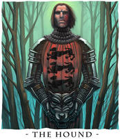 The Hound - A song of Ice and by BarryKeegan