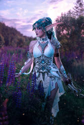 Tyrande Whisperwind - World of Warcraft by VIRAcosplay