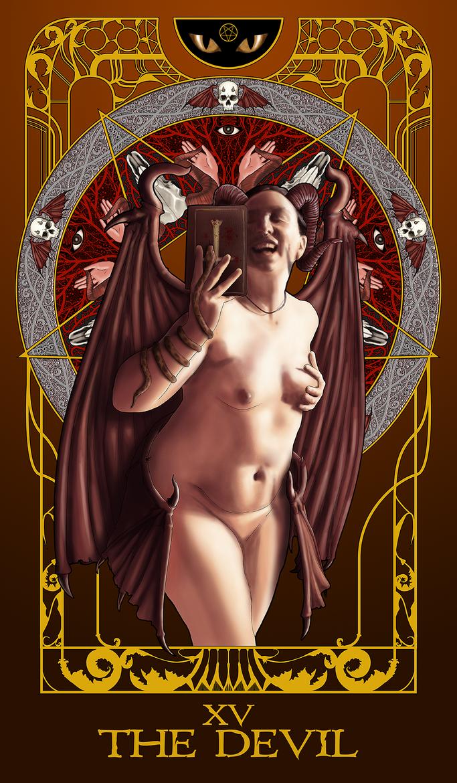 XV- The Devil by nichcruz