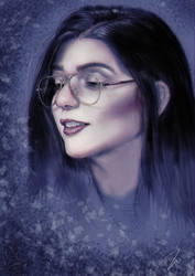 Lady with Glasses I