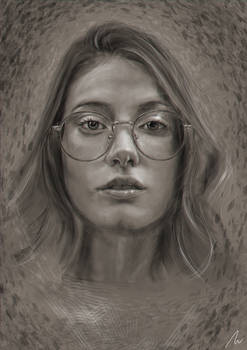 Lady with Glasses II